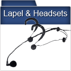 Lapel & Headset Mics