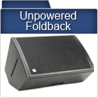 Unpowered Foldback Speakers