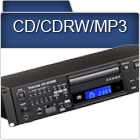 CD, CD-RW and MP3 recording and playback devices