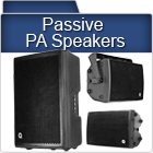 Unpowered PA Speakers