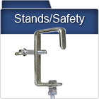 Lighting Stands & Safety Equipment, clamps etc