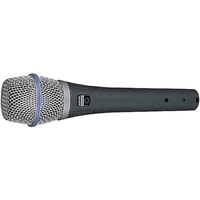 Shure BETA87C Condenser Vocal Mic