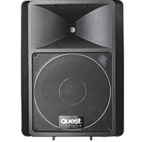 "Quest QSA300 12"" 300w Powered Speaker"