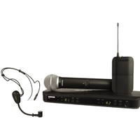 Shure BLX1288-PG31 Dual Radio Mic Kit with PG58 and PG31