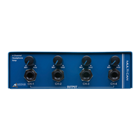 Australian Monitor Multican 4-way Headphone Amp