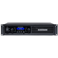 SAMSON SXD3000 2x450w Power Amplifier with DSP