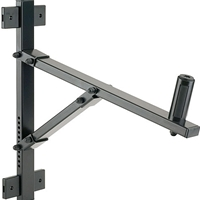 K&M 24110 Adjustable Speaker Wall Mount Bracket (50kg load)