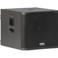 "QSC KW181 18"" 1000w Powered Subwoofer"