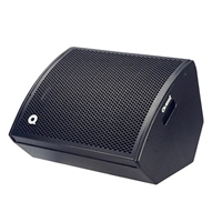 "Quest QM10DC 10"" + 1"" horn dual concentric 250w Compact Mini Monitor/Front of House Speaker"