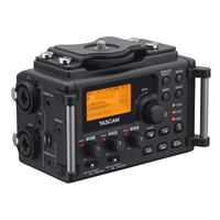 TASCAM DR60D Mixer with Integrated Linear PCM Recorder for DSLR