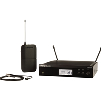 Shure BLX14R-WL93 Half-Rack Lapel Radio Mic System with WL93