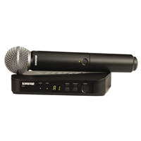 Shure  BLX24-SM58 Handheld radio mic kit with SM58