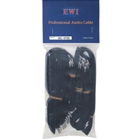 EWI VEL-5T24 24 double sided velcro cable tie straps