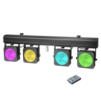 Cameo Multi PARCOB1 - Compact 4 x 30W RGB LED lighting system w/case