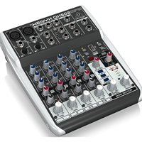 Behringer Xenyx QX602MP3 Mixer with MP3 Player and Effects