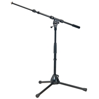 K&M 259/B Adj Height Short Mic Stand
