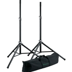 K&M 21449 Pair of speaker stands with bag