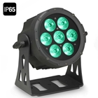 CAMEO FLAT PRO 7 IP65 7x10W FLAT LED Outdoor RGBWA PAR light