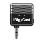 IK MULTIMEDIA IRIG MIC CAST MICROPHONE for iPhone, iPod touch, iPad and Android devices