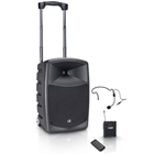 LD Systems Roadbuddy 10 Portable PA system with headset mic