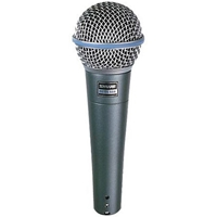 Shure BETA58A Industry Standard Lead Vocal Mic