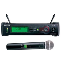 Shure SLX24-SM58 Handheld Radio Mic Kit with SM58