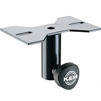 K&M 195/8 SPEAKER MOUNTING ADAPTER Attachable to speakers