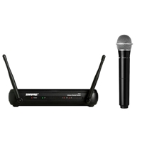 Shure SVX24-PG28 handheld wireless mic system with PG28